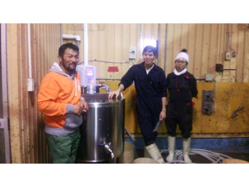 Testimony from Japan about calves milk pasteurizer