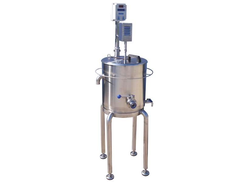 Construction phases of mini pasteurizer