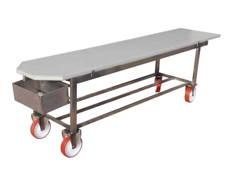 Drainage Trolley for Grana cheese type