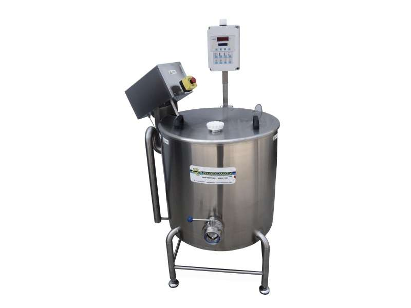 professional cooking vats or mini polyvalent vats for the mini dairy